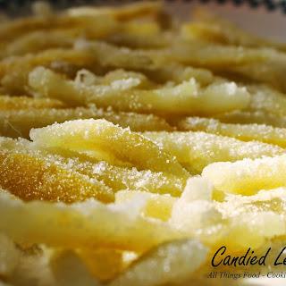 Candied Lemon Peel