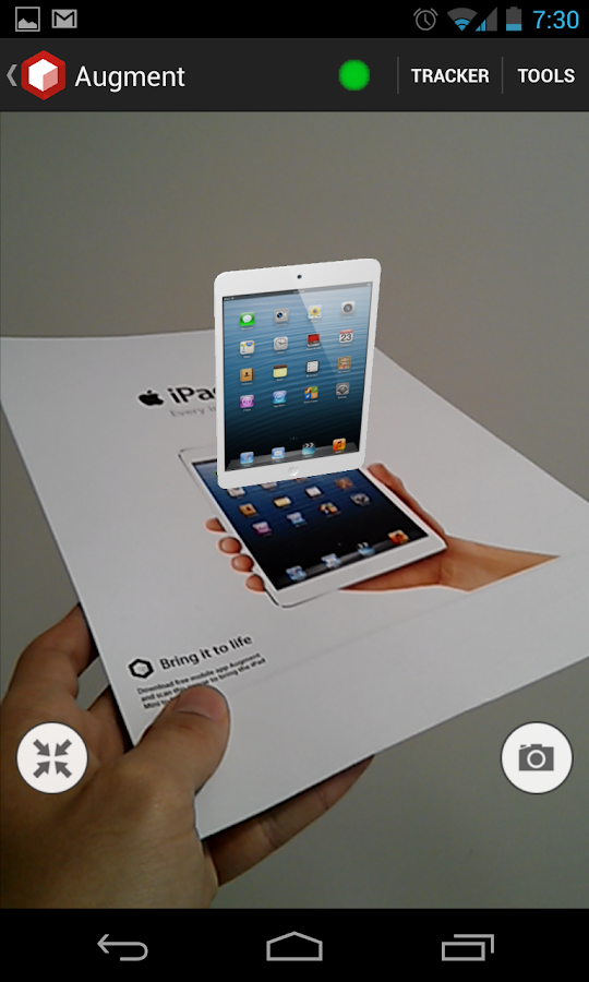 Augment, 3D Realidad Aumentada - screenshot