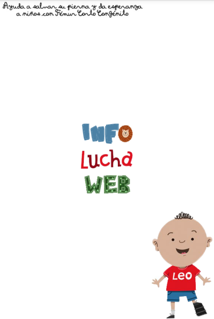Pagina Principal del juego Lucha con Leo