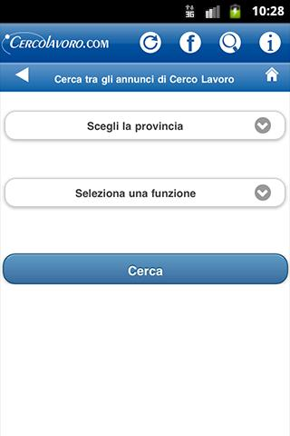 Cerco Lavoro- screenshot