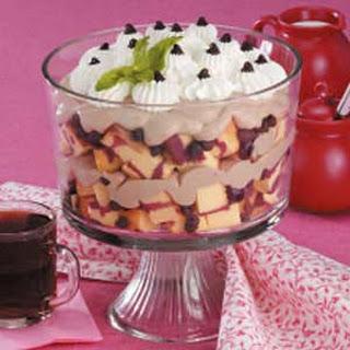 Cappuccino Cherry Trifle.