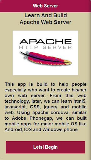 Learn Apache Web Server