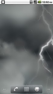 Lightning Storm LWP - screenshot thumbnail