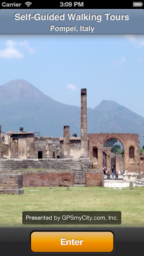 Pompei Map and Walks