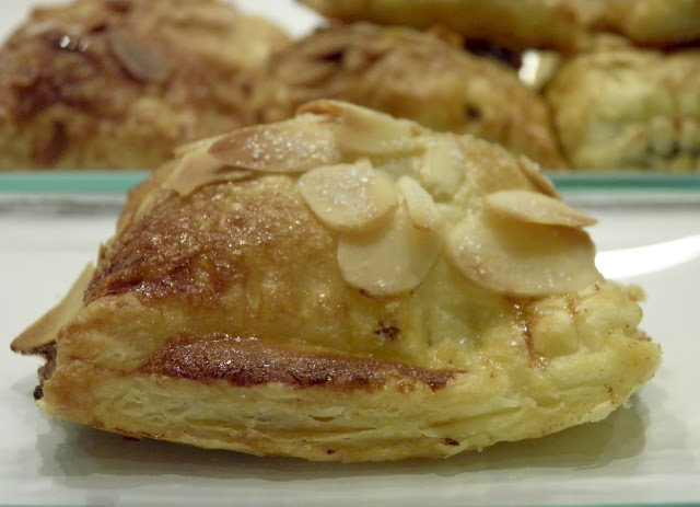 Chocolate and Almond Puffed Pastry