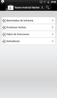 Screenshot of Futbol Ecuatoriano 2015