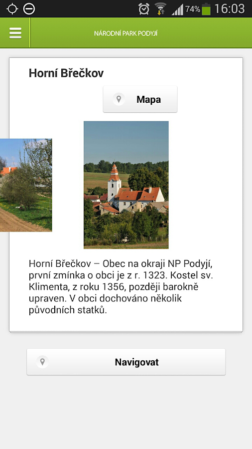 Podyjí National Park- screenshot