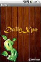 Screenshot of DailyXpo