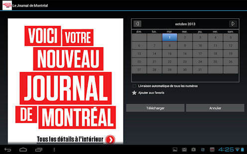 Journal de Montréal - éditionE- screenshot thumbnail