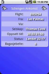 Flytider Norge- screenshot thumbnail