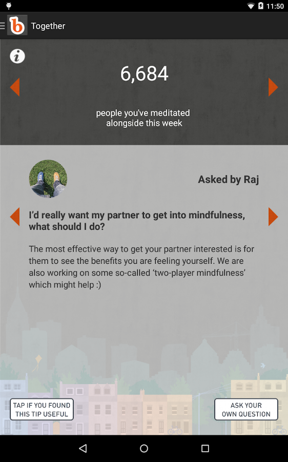 buddhify - mindfulness to go- screenshot