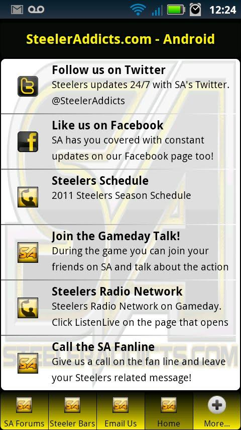 SteelerAddicts - Steelers News - screenshot