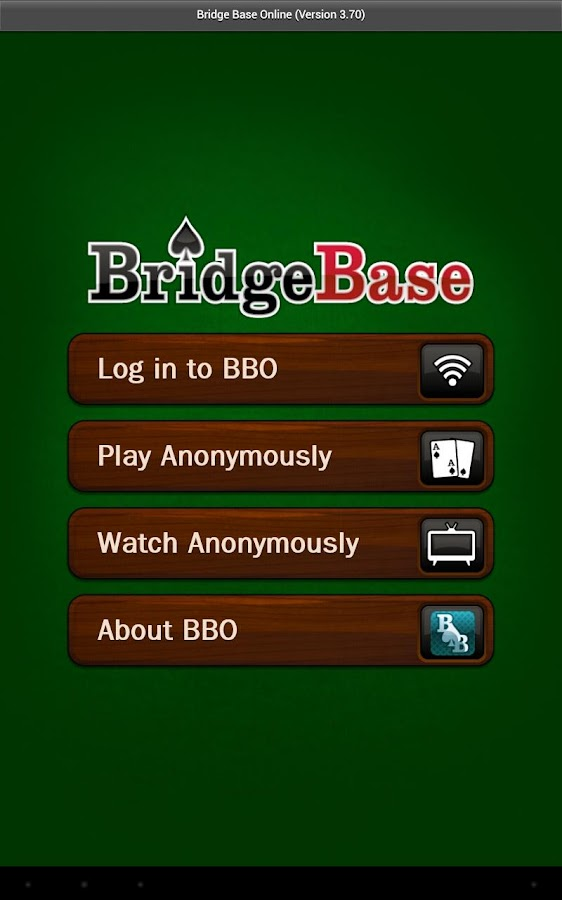 Bridge Base Online - screenshot