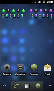 Binary Clock Widget- screenshot thumbnail
