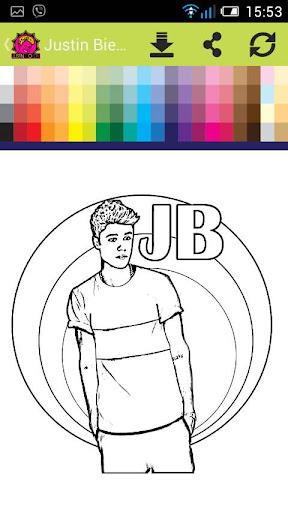 Justin Bieber Color Stylist