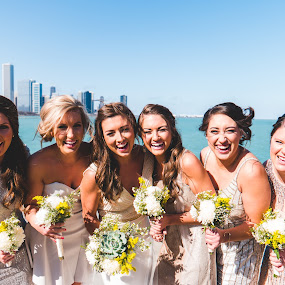 Beauties at the Lake by Jess Anderson - Wedding Groups ( nx1, weddingphotography, weddingday, wedding, chicago, jessica anderson, ditchthedslr, mchenryphotography.com, weddingphotographer, imagelogger, photography )