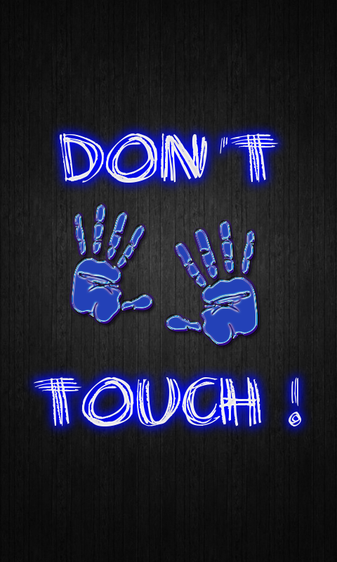 dont touch my phone wallpaper android apps on google play