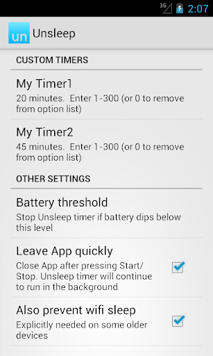 【免費工具App】Unsleep: keep screen on timer!-APP點子