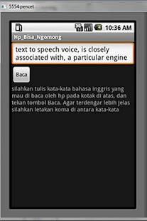HP Bisa Ngomong - screenshot thumbnail