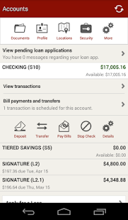 SF Fire CU Mobile Banking- screenshot thumbnail