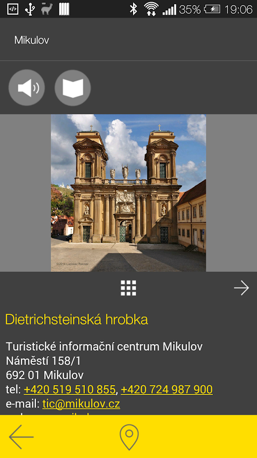 Mikulov - audio tour- screenshot