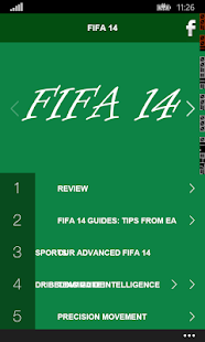 Guide For FIFA 14 Free Books