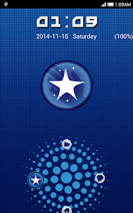 Blue Ring Go Locker Theme - screenshot thumbnail