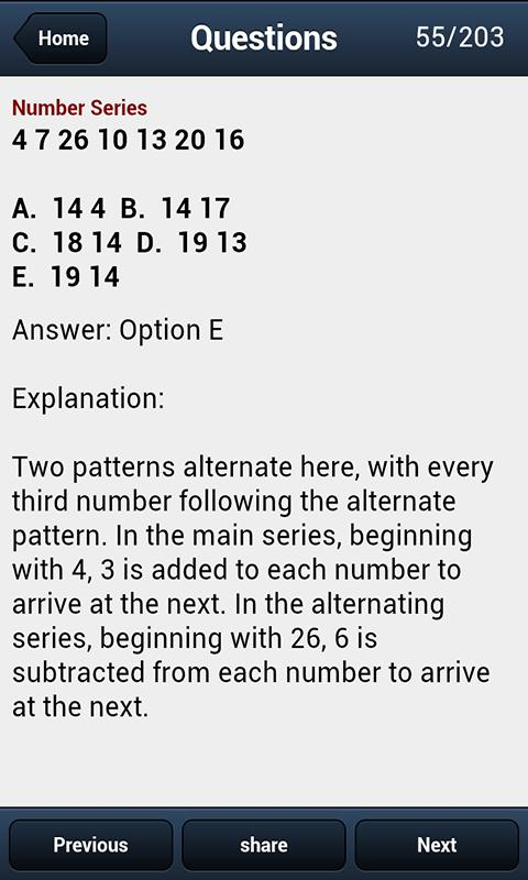 Test Logical Reasoning - screenshot