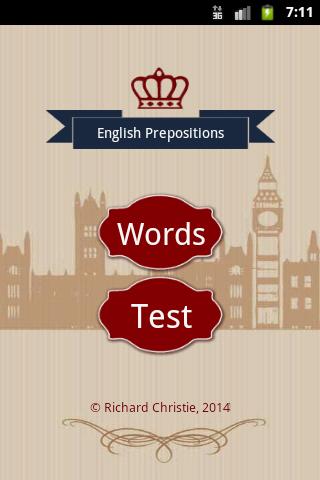 English Prepositions Help