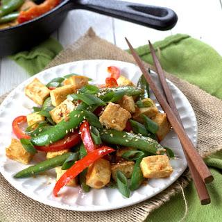 Veggie and Miso Tofu Stir-Fry