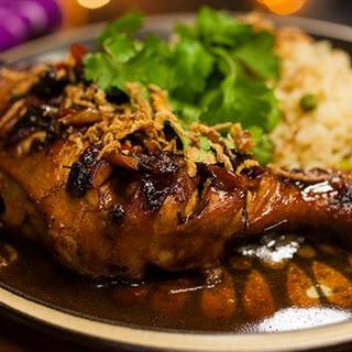 Filipino Adobo Chicken.