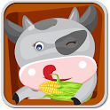 Happy Farm Jump - Kids Game icon