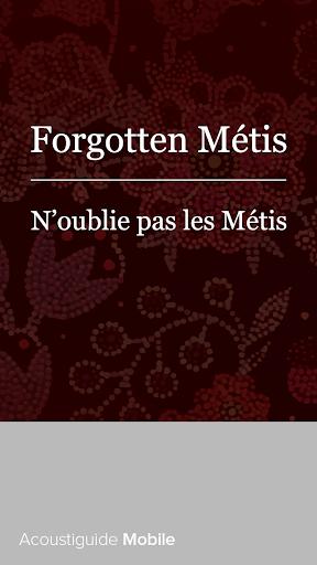 Forgotten Métis