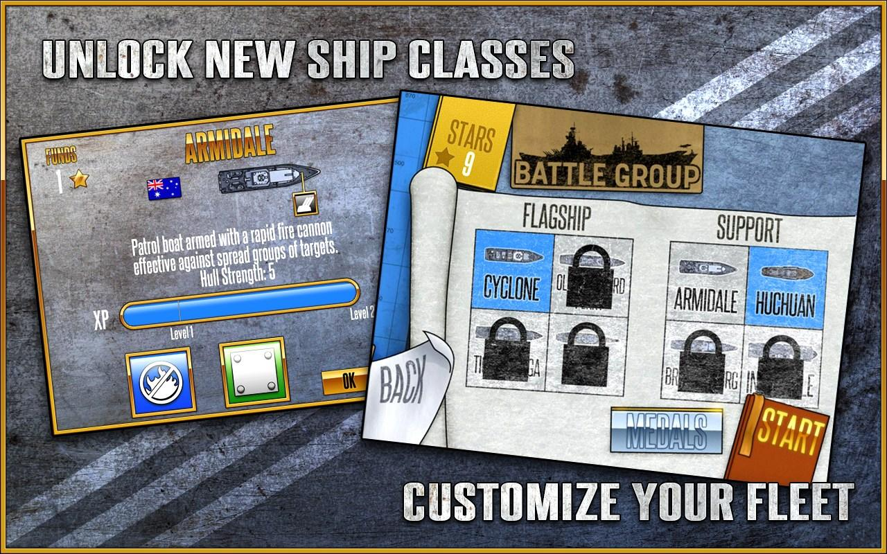 Battle Group Arcade- screenshot