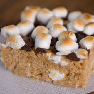 Extra Special Peanut Butter Cereal Treats.