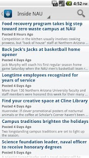 Northern Arizona University- screenshot thumbnail