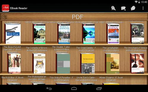 電子書閱讀器PDF閱讀
