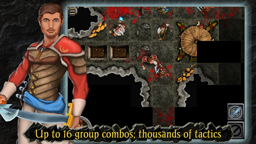 Heroes of Steel RPG Elite game for Android screenshot