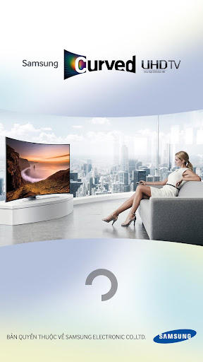 Curved UHD TV