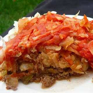 Sweet and Sour Beef and Cabbage.
