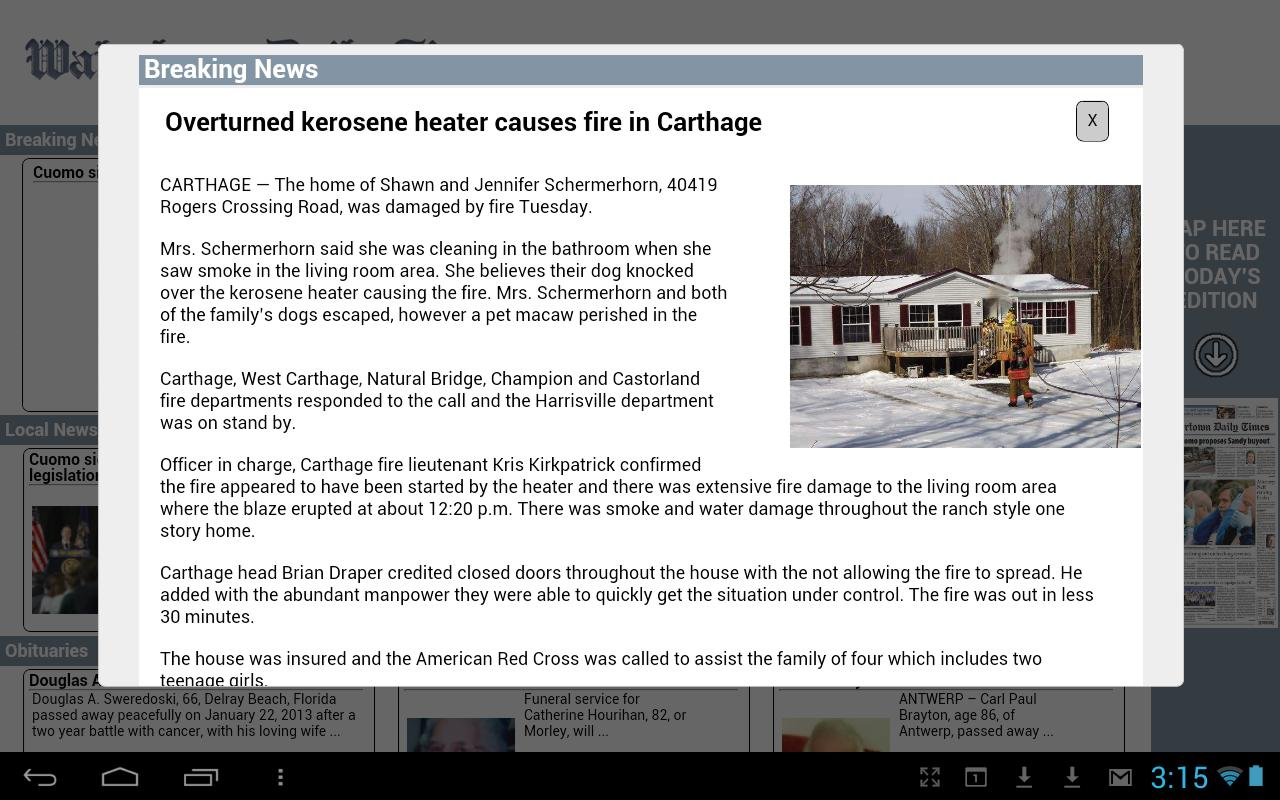 Watertown Times - screenshot