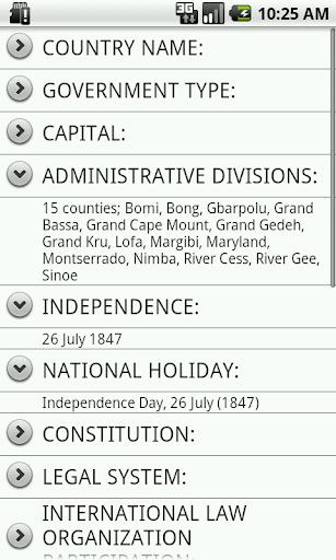 【免費個人化App】Liberia Facts-APP點子