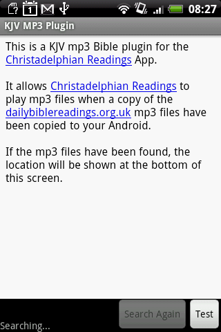 KJV Daily MP3 Plugin