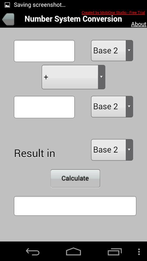 Number System Conversion- screenshot