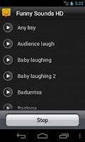 Screenshot of Funny Sounds HD