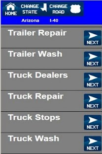 Truck Stops And Services- screenshot thumbnail