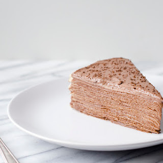Nutella Crepe Cake Recipe