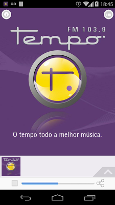 Tempo FM 103,9 Fortaleza BR - screenshot