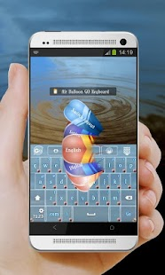 Air Balloon GO Keyboard - screenshot thumbnail