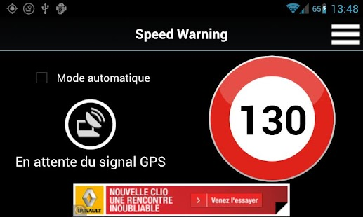 Speed Warning - screenshot thumbnail